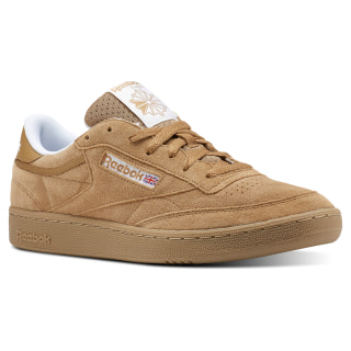 Club C 85 MU Indoor-Soft Camel/White/Gum CN3385