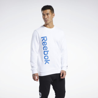 Training Essentials Linear Logo Sweatshirt White FK6128