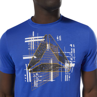 Foundations T-Shirt Crushed Cobalt DP6190