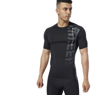 One Series Training Compression Tee Black EC0960