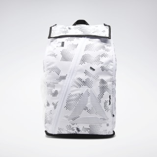 Active Enhanced Graphic Backpack White DU3008