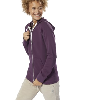 Training Essentials French Terry Hoodie Urban Violet DX1238