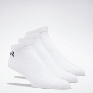 Active Core Low-Cut Socks 3 Pairs White FL5224