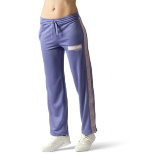 Pantalon de survêtement à boutons-pression Classics R Lilac Shadow DX2341
