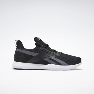 Reebok Reago Pulse 2.0 Shoes Black / White / Cold Grey 6 EH3194