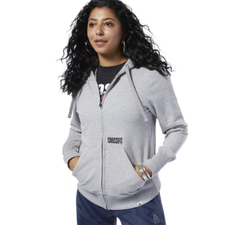 Sudadera Reebok CrossFit® Repeat Medium Grey Heather DY8377