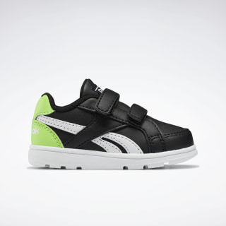 Reebok Royal Prime Shoes Black / Solar Green / White EH1005