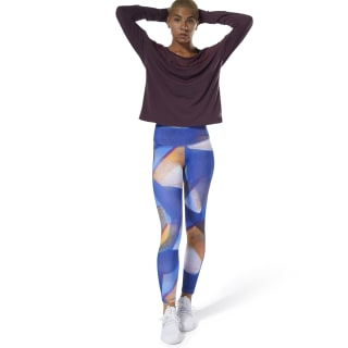 Calzas Yoga Lux Bold High-Rise Crushed Cobalt DP5849