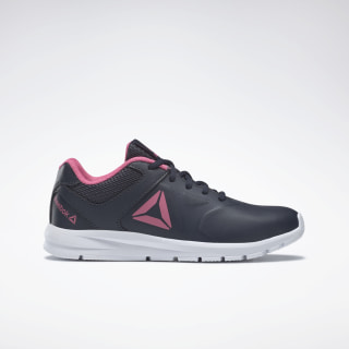 Reebok Rush Runner Shoes Navy / Pink / Silver DV8698