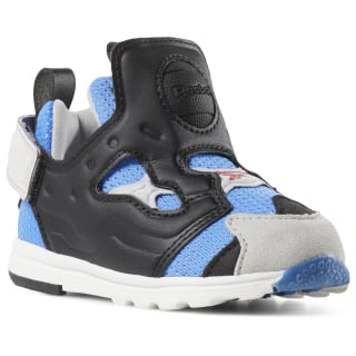 Versa Pump Fury Shoes - Toddler Echo Blue / Blk / Steel / Silver DV5407