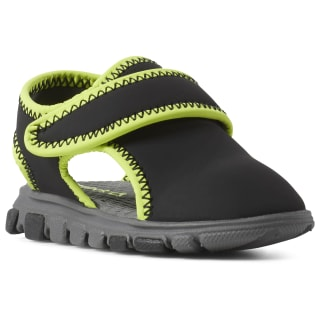 Wave Glider III Sandals Black / Alloy / Neon Lime CN8610