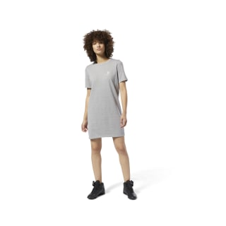Classics Tee Dress Medium Grey Heather DT7295