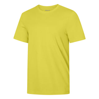 Футболка REEBOK Global Blank Mens Cotton YELLOW SPARK S16-R CW0307