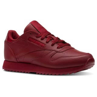 Classic Leather Ripple Cranberry Red CN5121