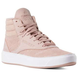Freestyle Hi Nova x Moussy Moussy-Chalk Pink/Rbk Red/White/Black DV5192
