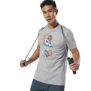 T-shirt Treadmill Medium Grey Heather DU4704