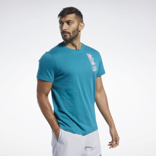 Reebok CrossFit® Get Out in Front Tee Seaport Teal FJ5280