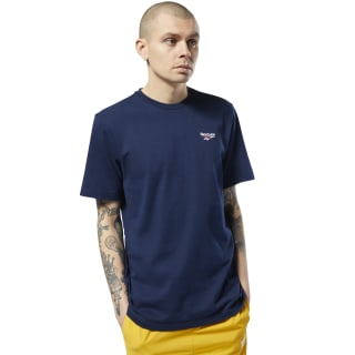 Small Vector Tee Collegiate Navy FL9396