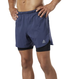 Shorts Run Essentials 2 en 1 Heritage Navy DY8295