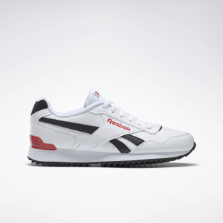 Reebok Royal Glide White / Black / Rebel Red DV8784