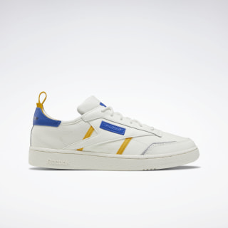 Кроссовки Reebok Club C Ree:Dux Chalk / Fierce Gold / Humble Blue FV4435