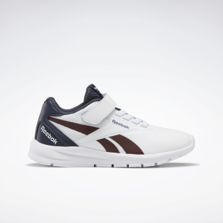 Reebok Rush Runner 2.0 Shoes White / Collegiate Navy / Burnt Sienna EF6650