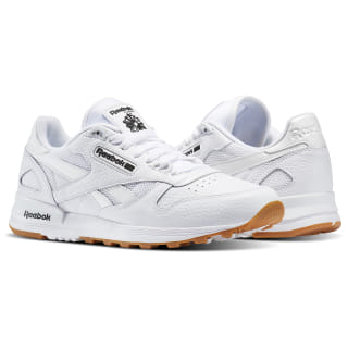 Кроссовки Classic Leather 2. WHITE/BLACK-GUM BS9004