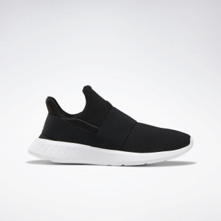 Reebok Lite Slip-On Shoes Black / WHITE / GREY DV9686
