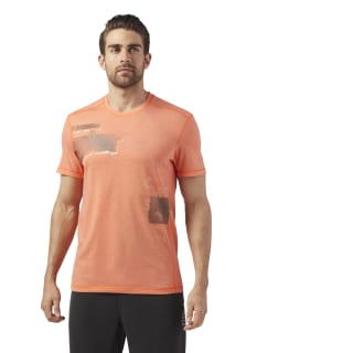 Reebok CrossFit Burnout Tee Orange / Bright Lava CD7607