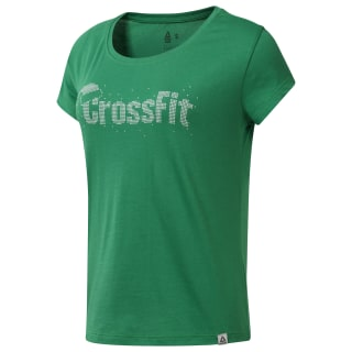 Cf Holiday Graphic Tee Basil Green DY0239