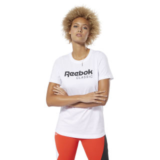 Remera Classic Leather Reebok Tee White DT7225