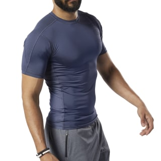 One Series Training Compression Tee Heritage Navy EC0961