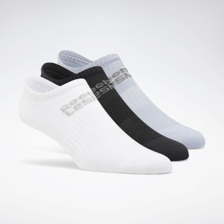 LES MILLS® Unisex Sock 3-Pack White / Black / Denim Dust FK1627
