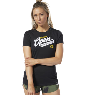 T-shirt Reebok CrossFit® Open Black FP9324