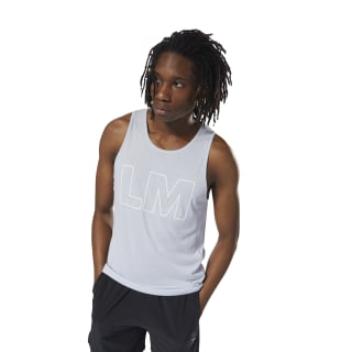 LES MILLS™ Supremium 2.0 Tanktop Cloud Grey DJ2183