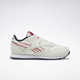 Classic Leather Shoes Chalk / Navy / Red DV8996