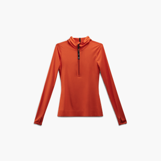 Victoria Beckham Hooded Top Swag Orange FI9365