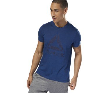 Elements Marble Mélange Tee Bunker Blue D94173