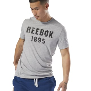 Reebok 1895 Tee Medium Grey Heather DH3783