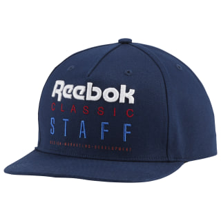 Classics Staff 6 Panel Hat Collegiate Navy DU7522