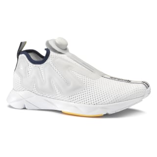 Reebok Pump Supreme Jacquard Tape Spirit White / Cloud Grey / Collgt Navy / Marigold CN6269