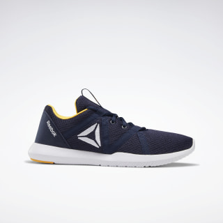 REEBOK REAGO ESSENTIAL Collegiate Navy / Black / White / Solar Gold CN7217