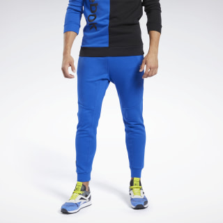 Training Essentials Linear Logo Joggers Humble Blue FK6142