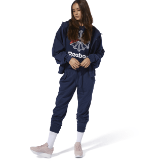 Спортивные брюки Classics French Terry collegiate navy DT7248