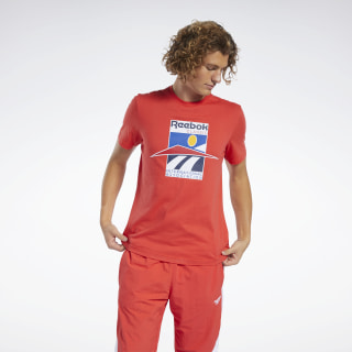 Classics International Tee Radiant Red FK2624