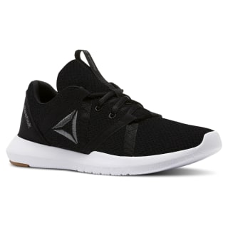 Tenis REEBOK REAGO ESSENTIAL BLACK/ALLOY/FIELD TAN/WHITE CN5186