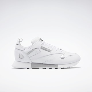 Кроссовки Reebok Classic Leather Ree:Dux White / Cold Grey 2 / Silver Met. FV3539