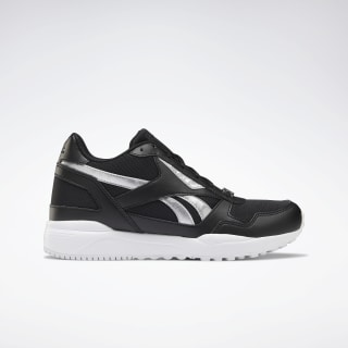Reebok Royal Bridge 2.0 Shoes Black / Black / Silver  Metalic DV8974