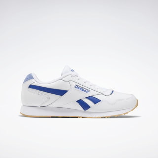 Reebok Royal Glide Lux Shoes White / Royal Dark Blue / True Grey EF7653