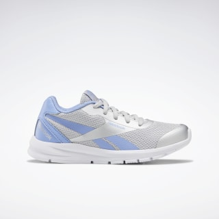 Reebok Rush Runner 2.0 Shoes Silver Metallic / Cornflower Blue / White EF7418